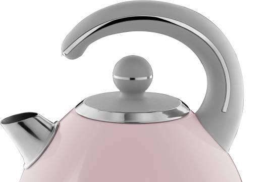 Russell Hobbs Wasserkocher Bubble mit • Oberfläche aus hochwertigem lackierten Edelstahl.