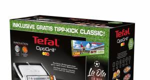 """Die WM naht: """"Grill + Kick"""" mit Tefal."""