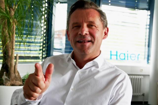 Inzwischen ein voll überzeugter Haier-Fan: Thomas Wittling.