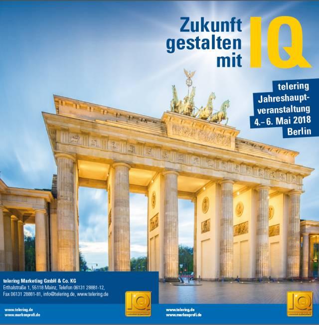 Auf geht's: Berlin ruft zur telering Jahreshauptversammlung.