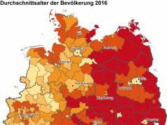 2018 Bevölkerung Durchschnittsalter 2016
