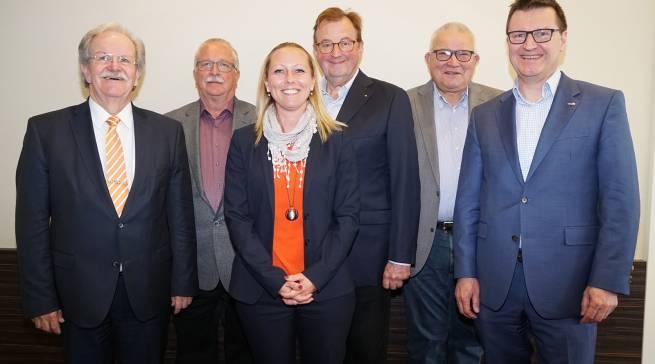Der neue BVT-Vorstand (v.l.n.r.): Walter Kolbeck, Steffen Wolf, Carina Brederlow, Rainer Th. Schorcht, Willi Klöcker, Frank Schipper (FOTO: BVT)