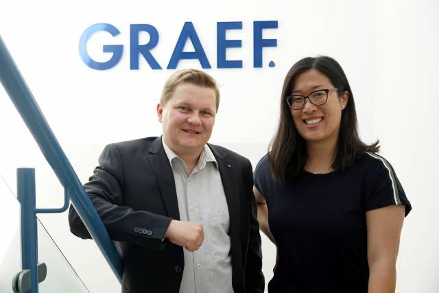 Johanna Graef freut sich über den Eintritt von Ralf Heinitz im Familienunternehmen.
