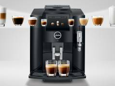 Jura Kaffeevollautomat S80 Piano Black mit Smart Connect.