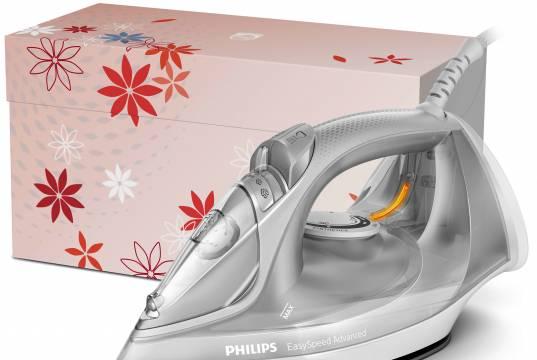 Philips Dampfbügeleisen EasySpeed Advanced in zwei Varianten erhältlich.