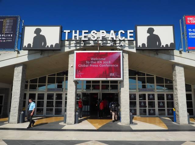 Der Ort der IFA Global Press Conference: Das Kino