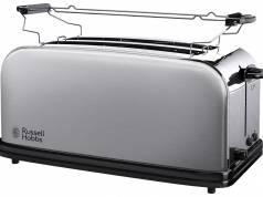 Russell Hobbs 2-Schlitz-Langschlitz-Toaster Adventure mit 2 extra breiten Toastschlitzen.