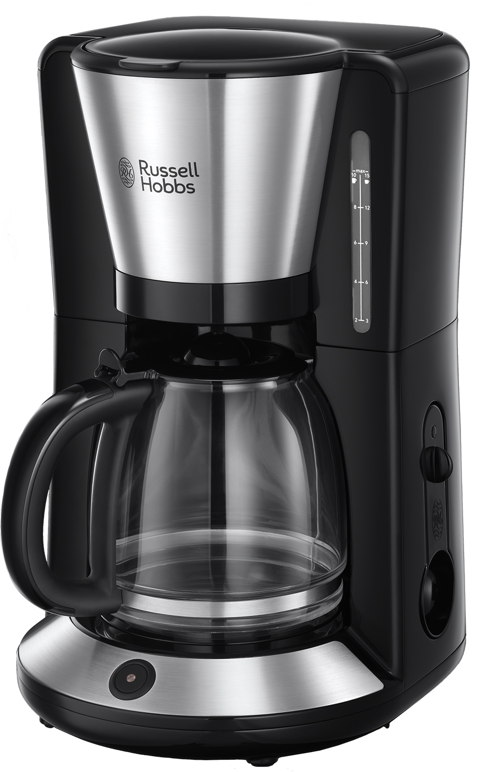 Russell Hobbs Glas-Kaffeemaschine Adventure mit WhirlTech-Brühtechnologie.