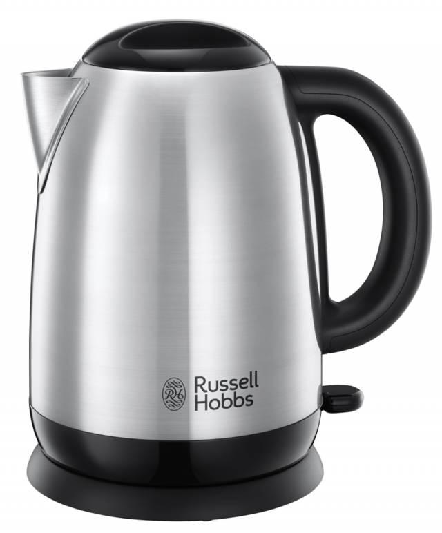 Russell Hobbs Wasserkocher Adventure mit Schnellkochfunktion.