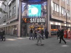 Hohe Straße 46-50: Der neue Saturn Köln City.