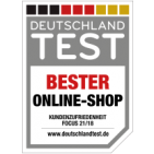 Testsiegel Bester Online-Shop 2018