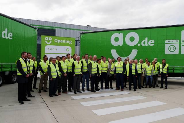 AO hat mit Eröffnung der Europazentrale in Bergheim im Herbst 2018 Fuß auf dem Festland gefasst.