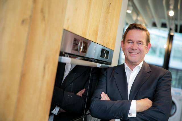 Setzt auf digitalen Input und Beteiligungen: Dr. Karsten Ottenberg, Vorsitzender der BSH-Geschäftsführung.