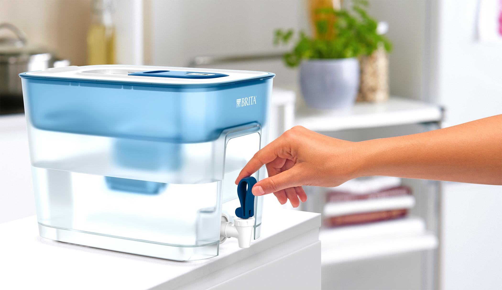 <h1>Brita Wasserfilter fill&enjoy Flow</h1><h3 style='font-size: 20px; margin: 0px 0px 15px 0px;'> -8,2 Liter Fassungsvermögen, MicroFlow Technology</h3>