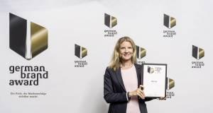Die Auszeichnung wurde in Berlin von Beurer Marketingleiterin Kerstin Glanzer entgegengenommen.