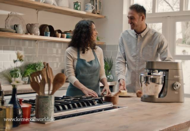 Küchenliebe: eine emotionale Markenstory von Kenwood im TV.