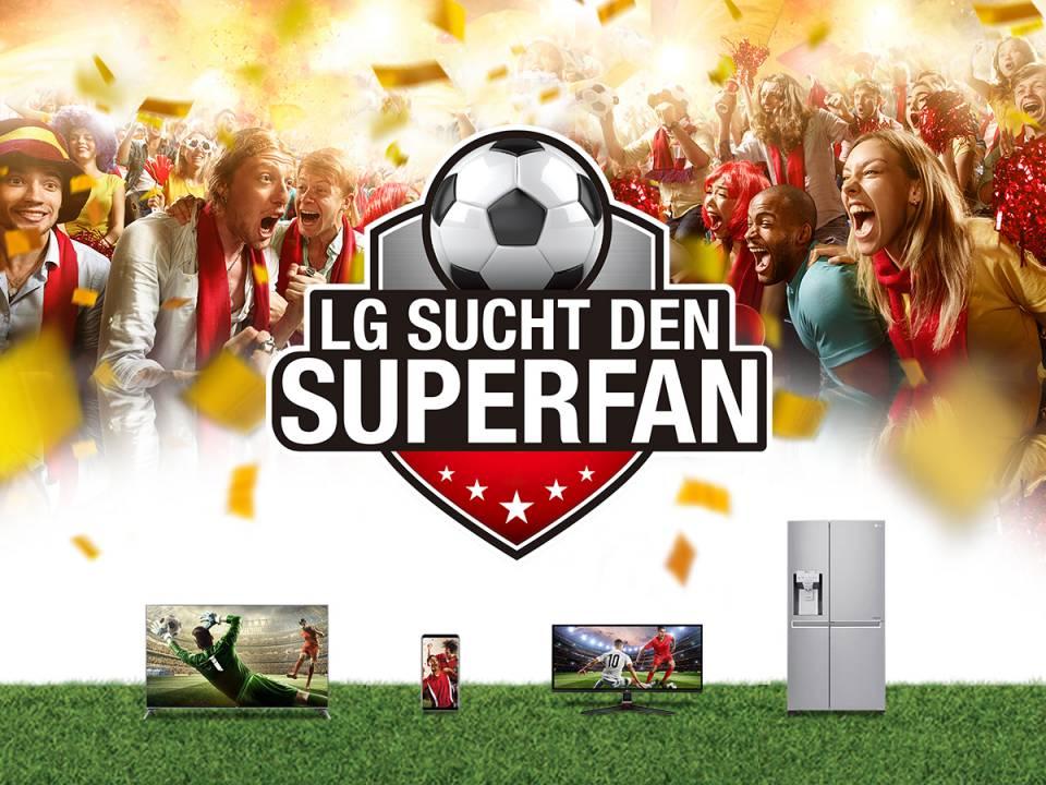 LG kürte den WM-Super Fan