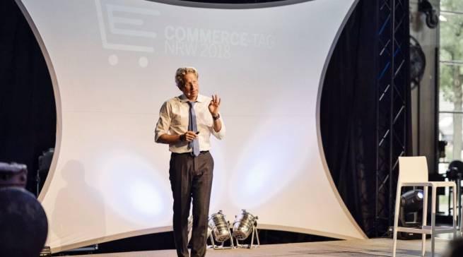 """Unterhaltsam, provozierend, visionär: Referent Oliver Leisse, Geschäftsführer von """"See More Future Research & Development""""."""