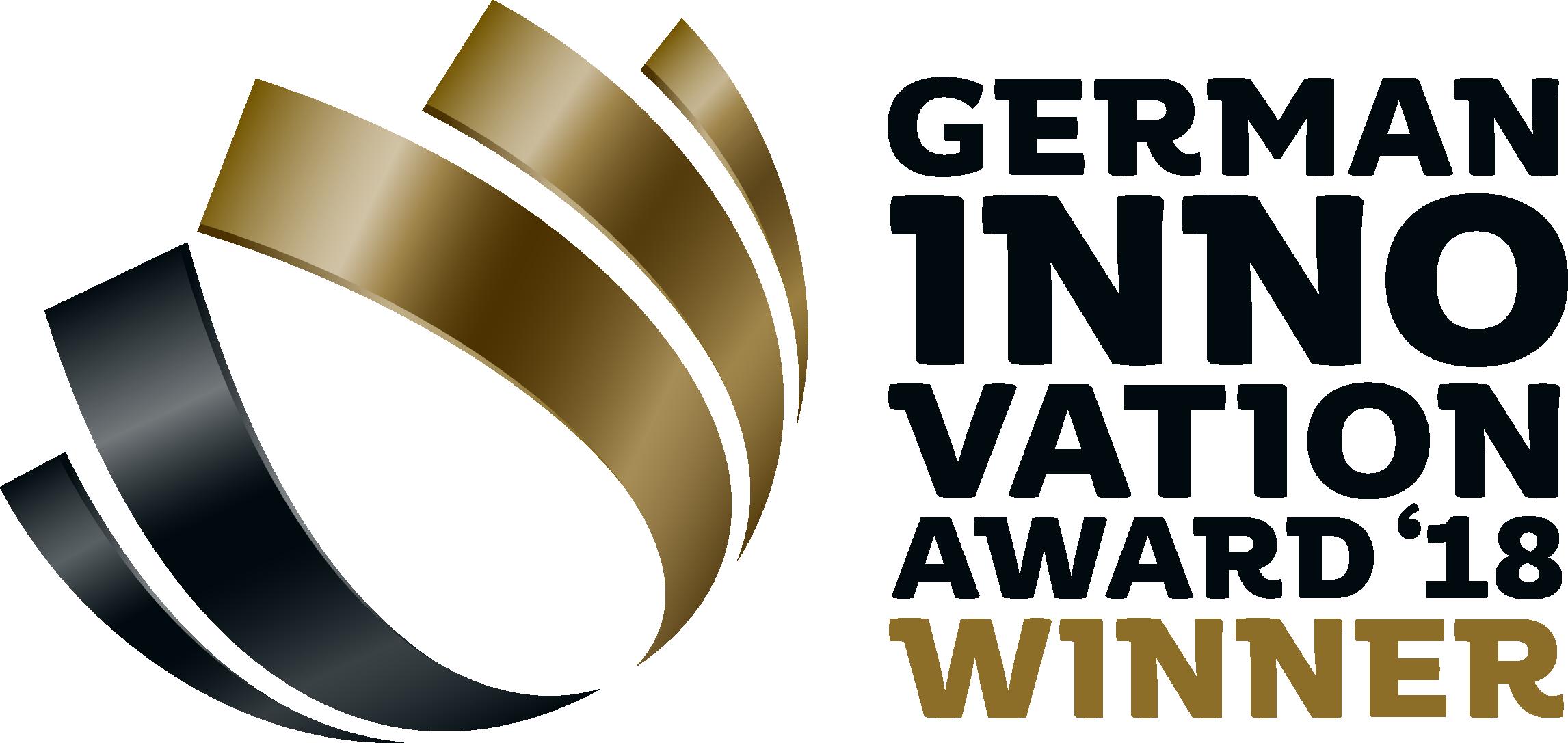 Logo German Innovations Award 2018 Winner