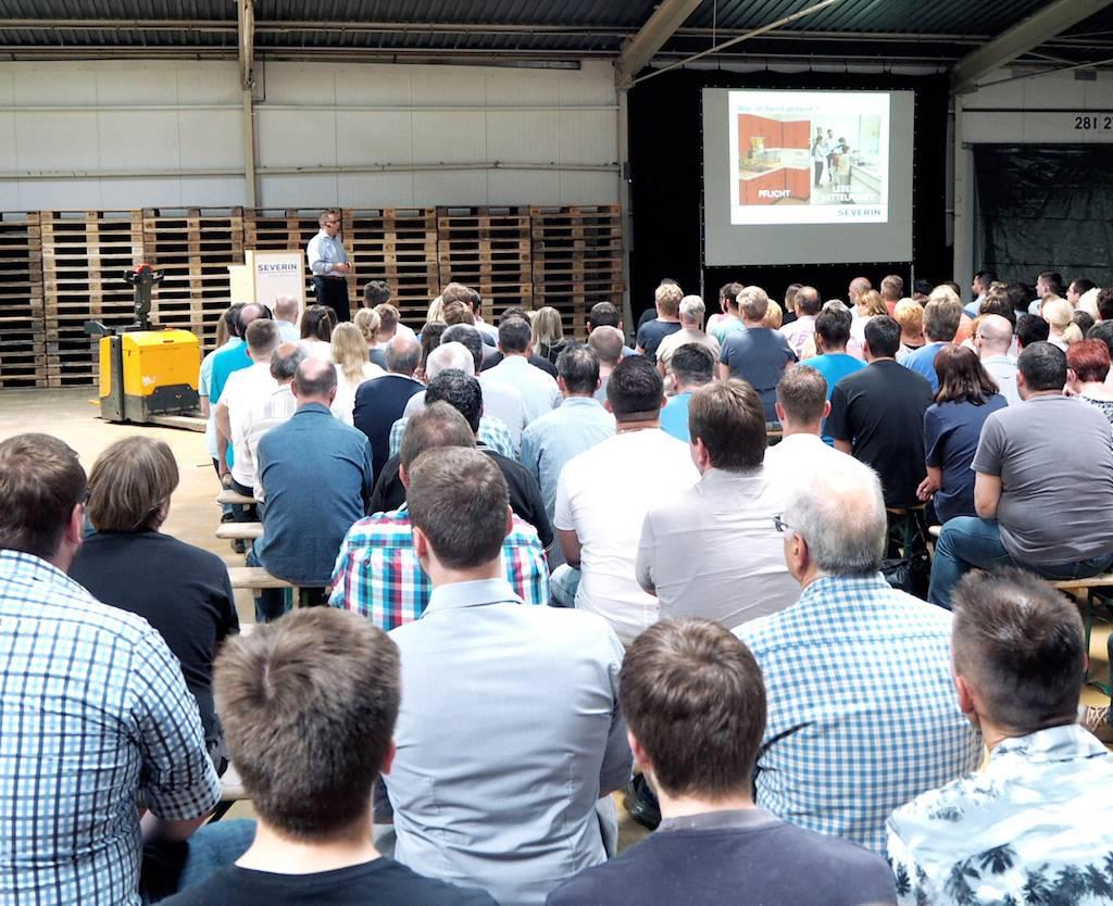 Sieht Severin auf dem Weg zu einem globalen Kompetenzpartner im Bereich der Elektroklein- und Großgeräte: Christian Strebl.