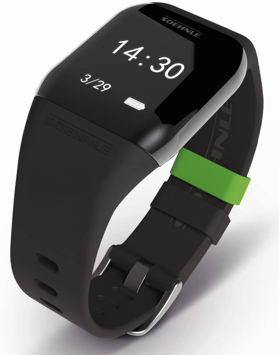 Soehnle Fitness-Tracker Fit Connect 300 HR speichert bis zu 10 Trainingseinheiten.