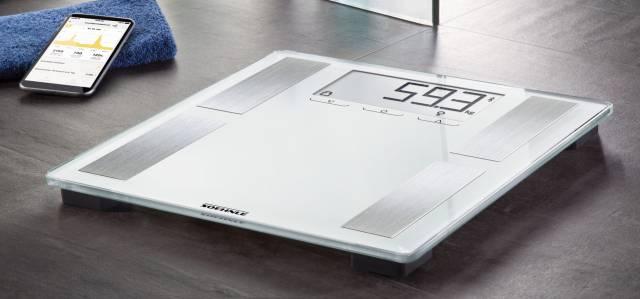Soehnle Körperanalyse-Waage Shape Sense Connect 100 mit BIA-Premiummessung.