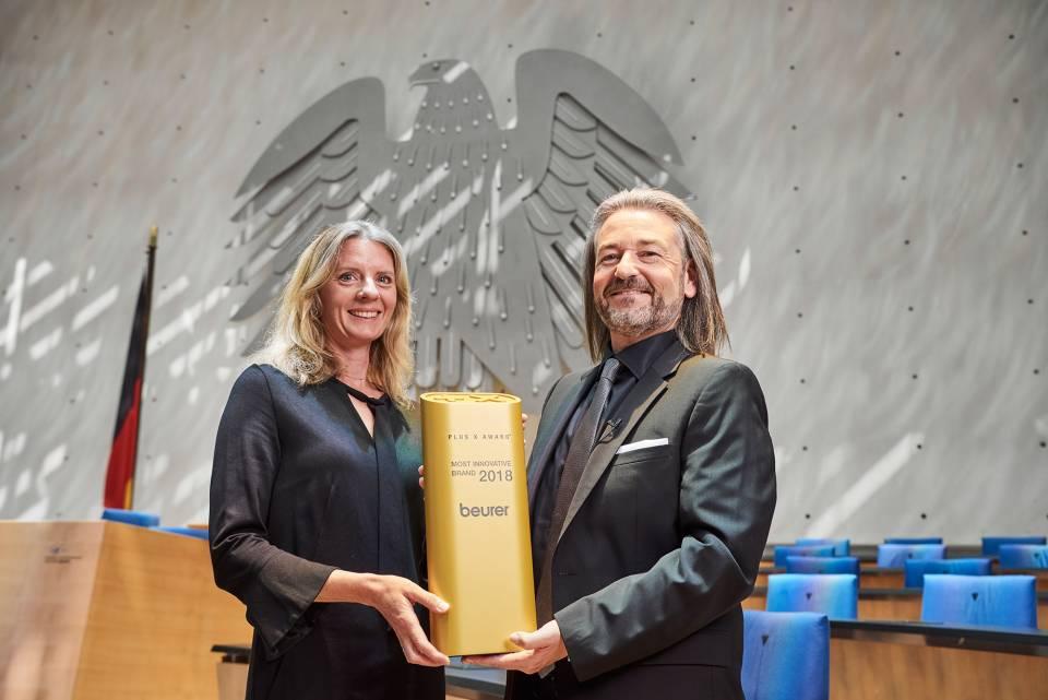 Ausgezeichnet: Kerstin Glanzer und Donat Brandt