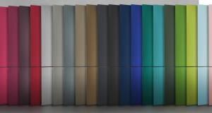 Bosch Kühl- /Gefrierkombination Vario Style mit neuen, austauschbaren Farben.