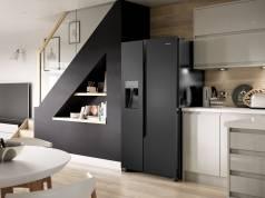 Hisense Side-by-Side-Kühlschrank RS694N4TF2 mit Ice Maker/Wasserspender.
