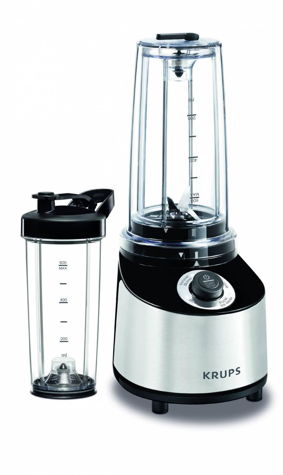 Krups Freshboost Vakuum Standmixer to go mit Nutrivacuum-Technologie.