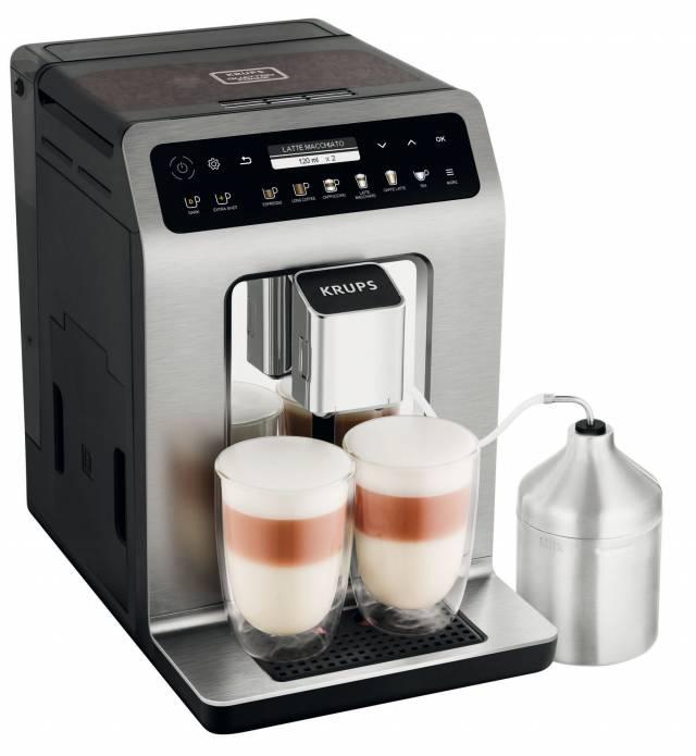 Krups Kaffeevollautomat EvidencePlus mit 19 Getränkevariationen.