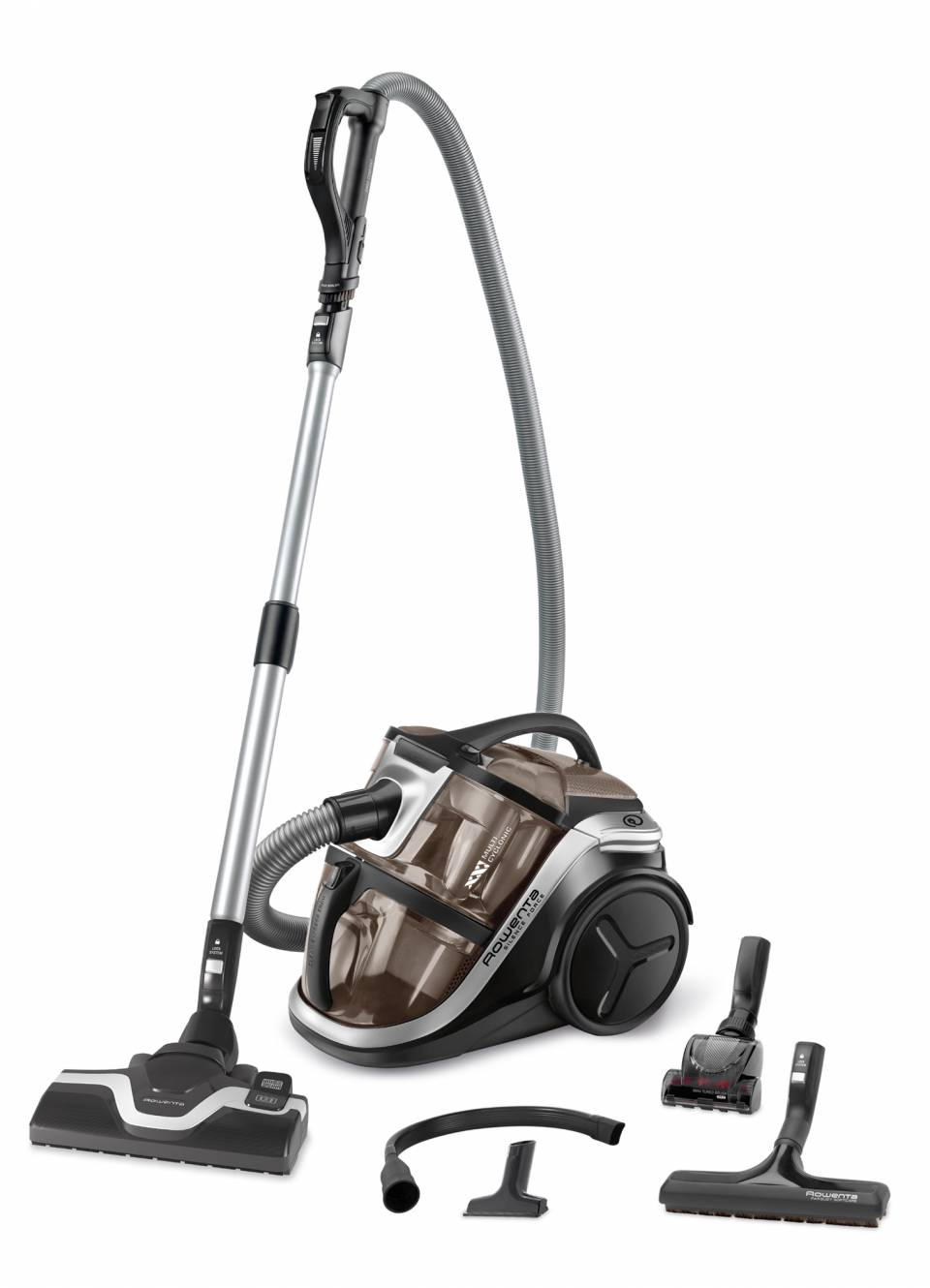 Rowenta Staubsauger Silence Force Multi-Cyclonic 4A mit Power Air Bodendüse.
