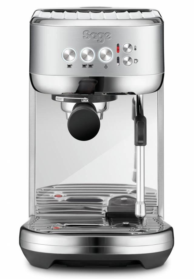 Sage Espressomaschine Bambino Plus mit nur 3 Sekunden Aufheizzeit.