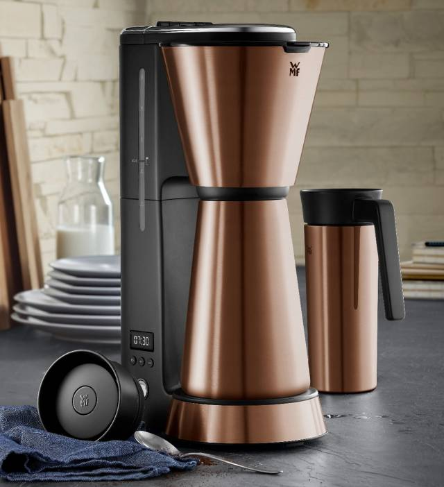 WMF KÜCHENminis Aroma Kaffeemaschine Thermo-to-go Color Edition mit • Keep Hot Thermoisolierung.