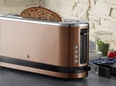 WMF KÜCHENminis Langschlitz-Toaster Color Edition mit Platz für XXL-Toasts.