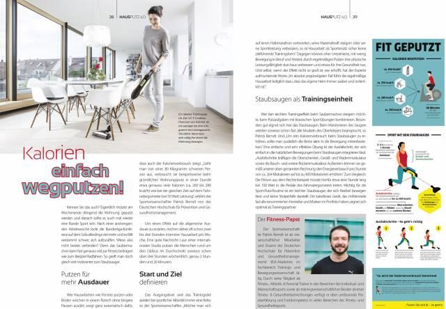 eMagazin Hausputz 4.0 zu Bodenpflege, Akkusauger, Saugroboter, Fensterreiniger, Wischmopps