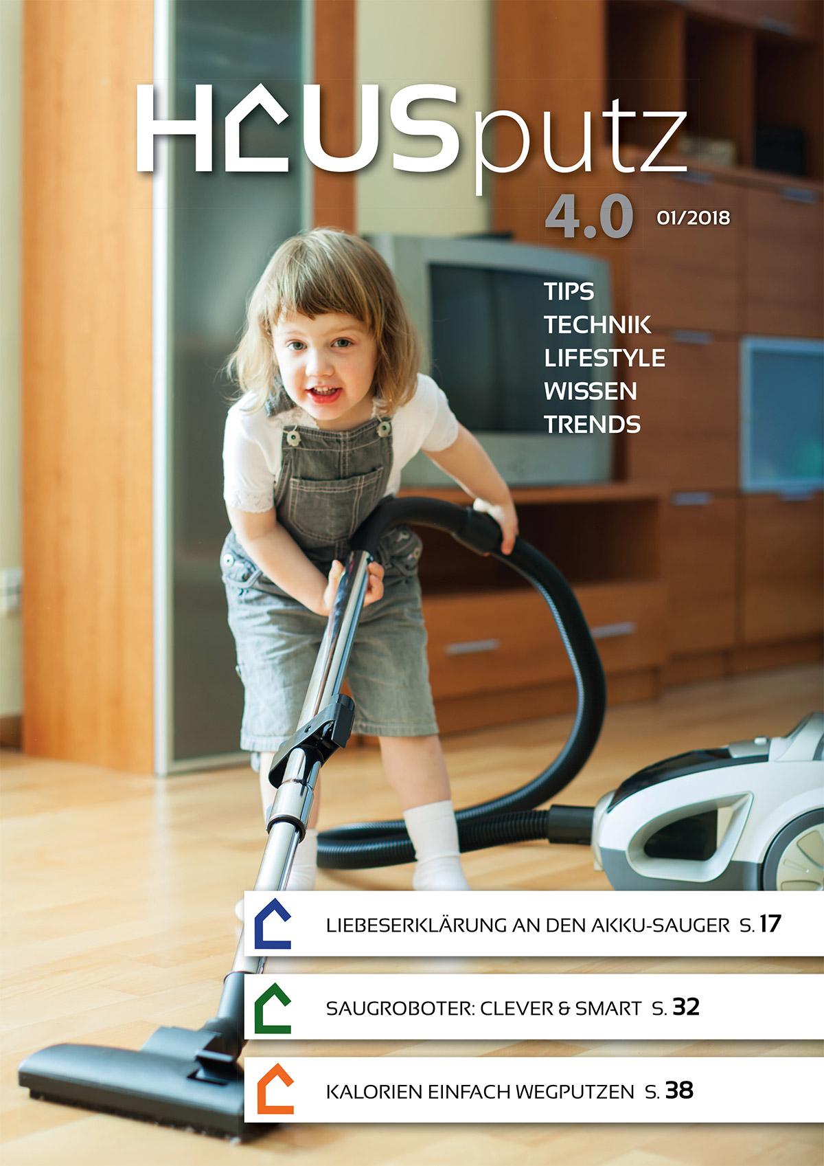 eMagazin Hausputz 4.0 Titelseite