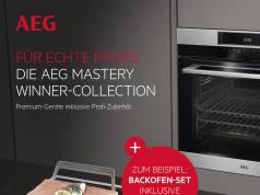 Gratis Zubehör für AEG-Geräte.