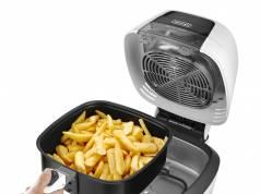 De'Longhi Heißluftfritteuse IdealFry für 1.25 kg Kartoffeln.