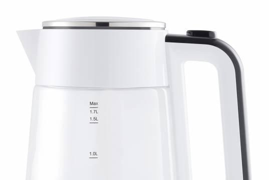 Grundig Wasserkocher WK 5680 mit 1,7 Liter Fassungsvermögen.