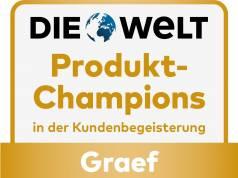 Gütesiegel Produkt-Champions Graef