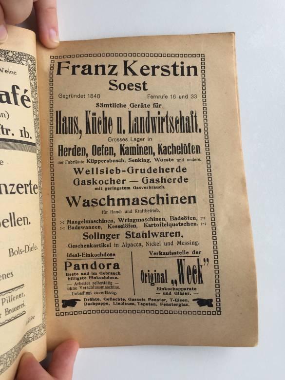 Gegründet 1848: Franz Kerstin hat alles für Haus, Küche und Landwirtschaft.