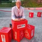 """""""Die IFA wirkt für die Branche wie ein Magnet, ein Business-Beschleuniger"""", sagt Berthold Niehoff."""