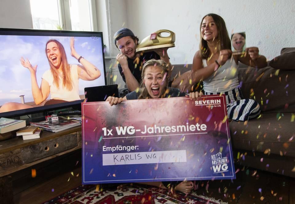 "Severin Floorcare begleitet ""Abstauber WG"""