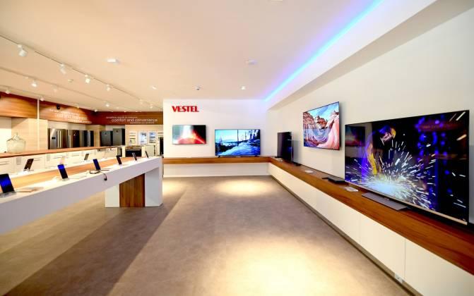 Vestel Showroom Impressionen