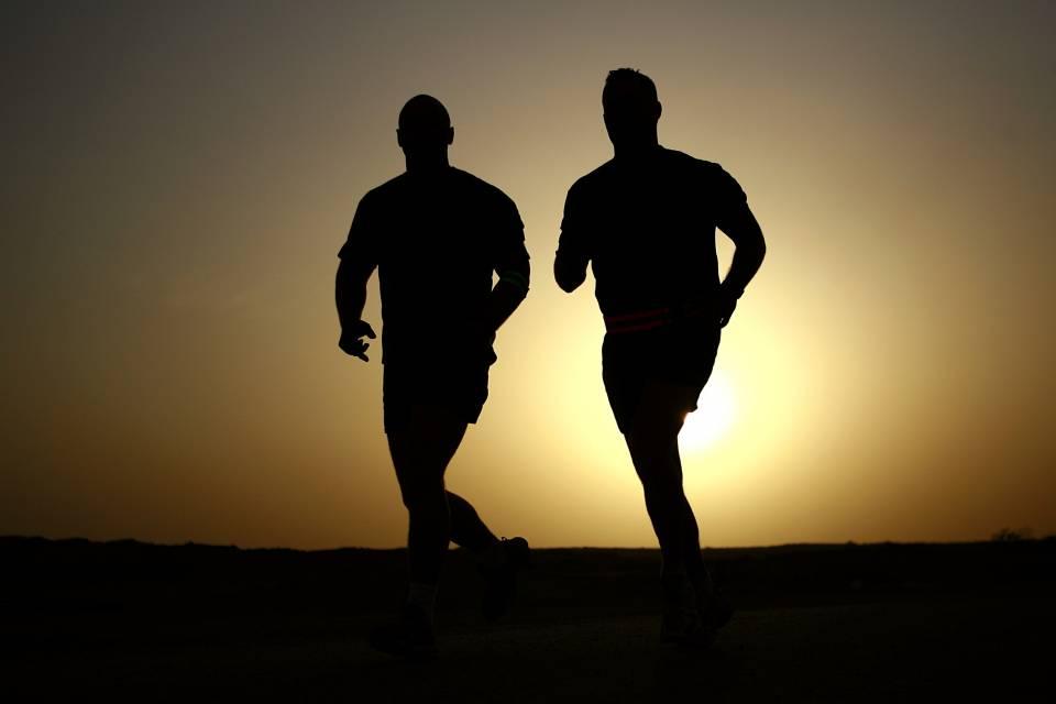 Läufer Fitness