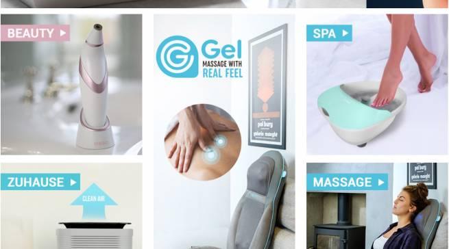 HoMedics Gel Shiatsu-Massageauflage