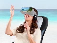 HoMedics Massageauflage Virtual Reality MCS-1000HVR-EU mit über hundert Virtual Reality Erlebnissen.