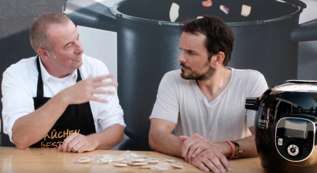 Küchengespräch - Krups Cook 4 Me - Steffen Henssler