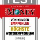 Focus Money Höchste Weiterempfehlung Samsung